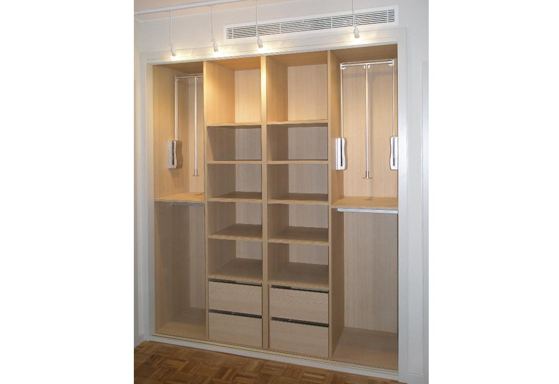 Interiores armario muebles lajusticia muebles a medida - Interior de armarios ...