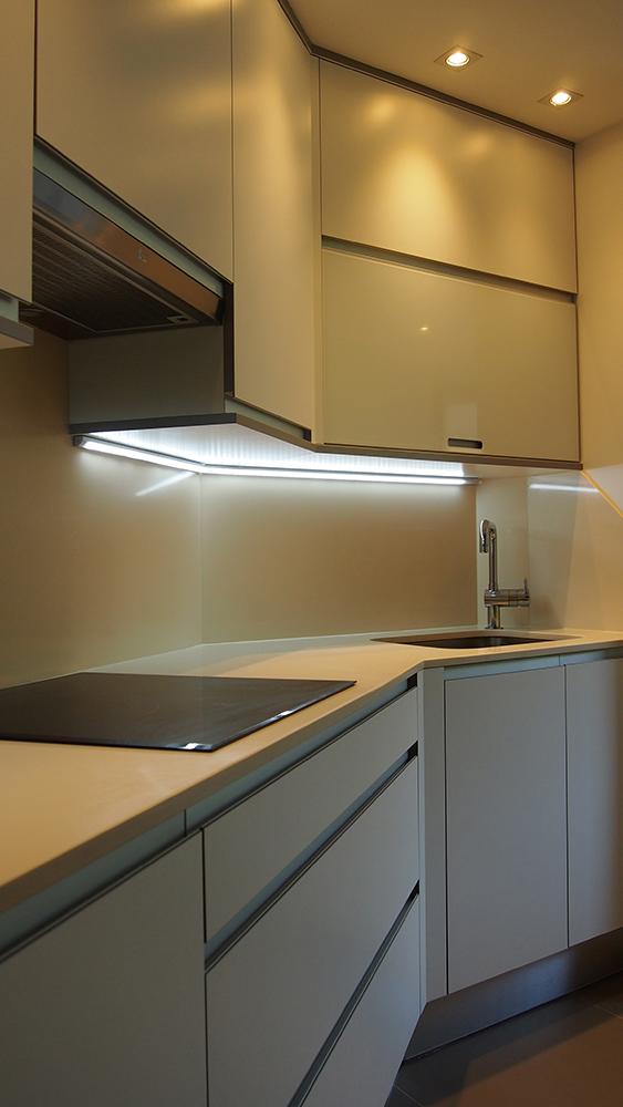 Cocina irregular muebles lajusticia muebles a medida for Cocinas a medida