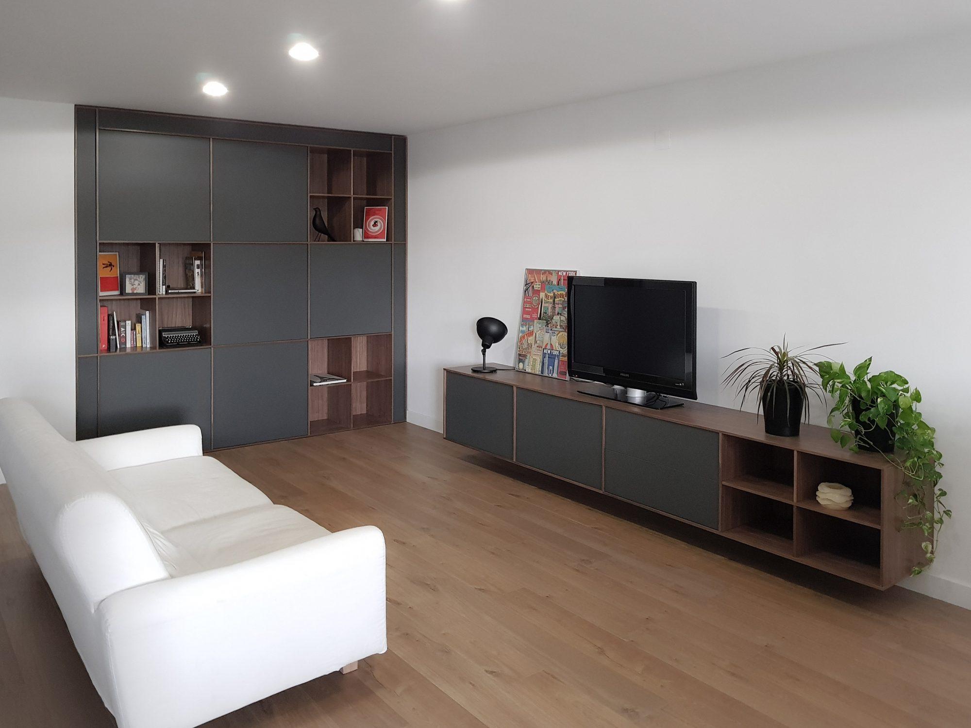 Muebles a medida Lajusticia_instalación